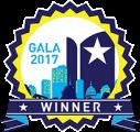 Gala 2017 winner logo image