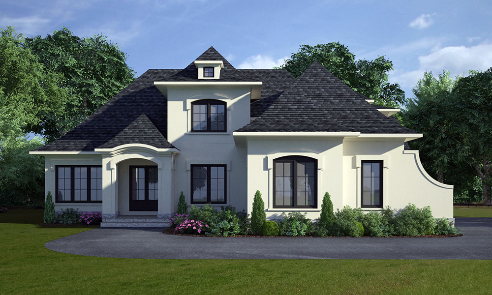 old courthouse custom home