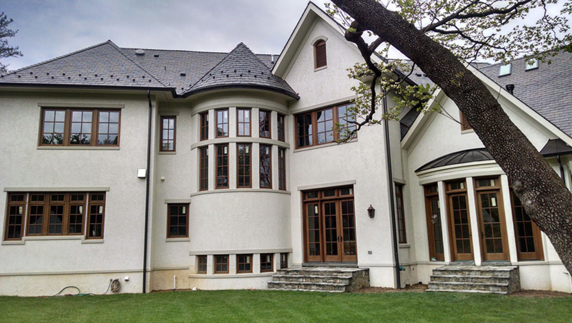 country french custom home image