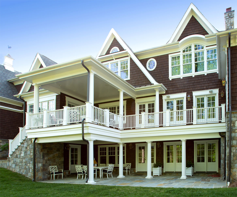 North Nelson Nantucket custom home image