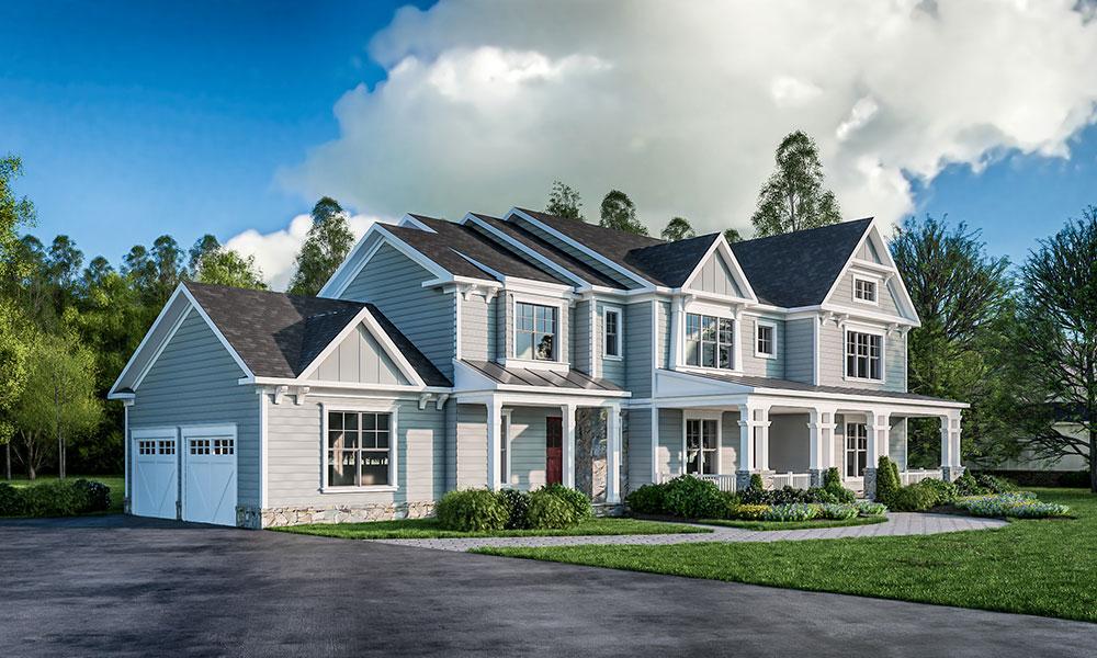 calpurnia court custom home