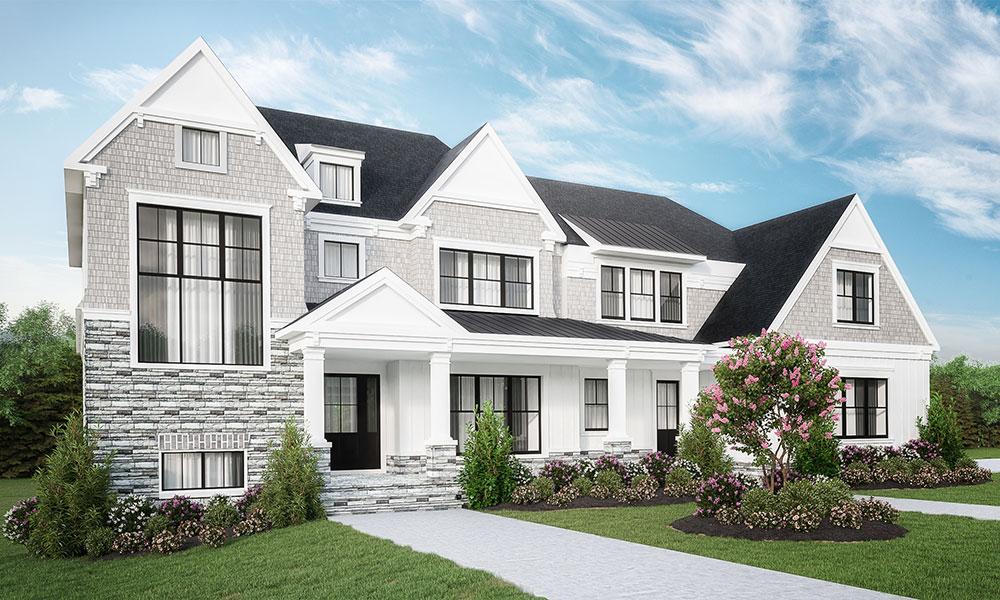 fairbank street custom home