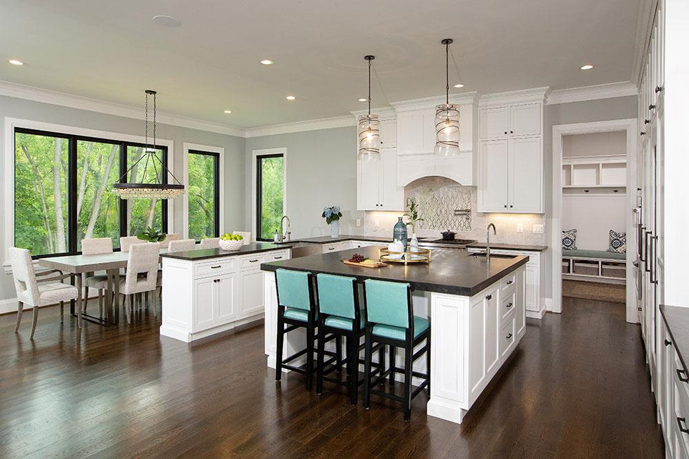 custom home interior image