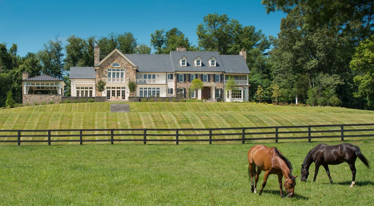 Virginia Farm House
