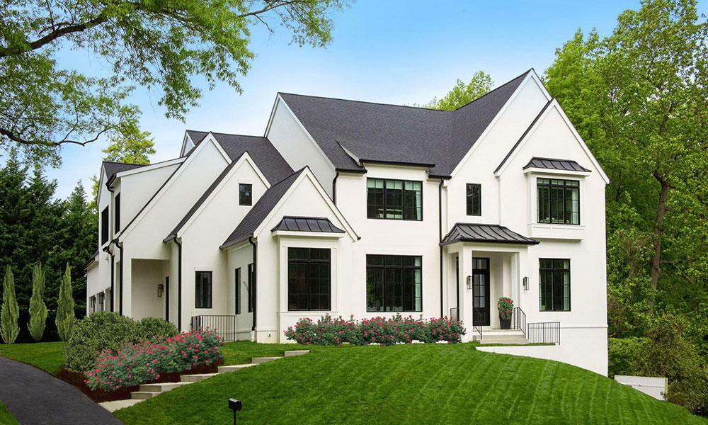 Contemporary Colonial Custom Home in Arlington, VA