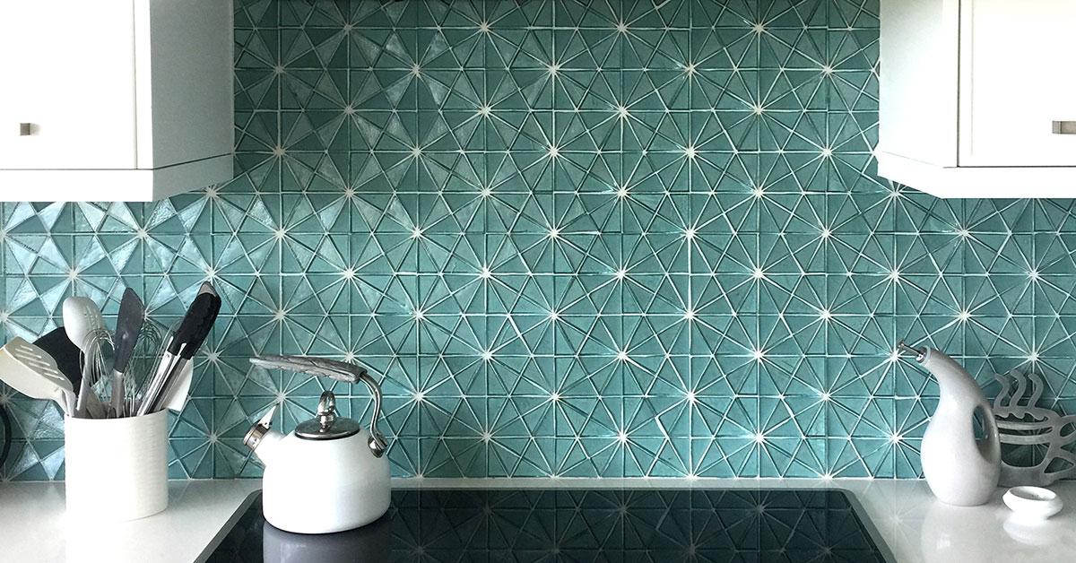 Luxury kitchen tile